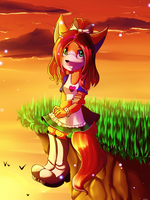 .: Sunset :. by SweetLiarr