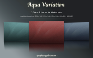 Aqua Variation in Crimson by JosephYang