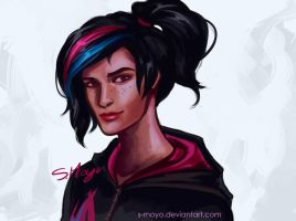 Wyldstyle by S-Moyo