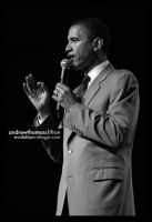 Senator Barack Obama by evolutionsky