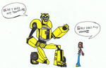 TFA Victoria and Bumblebee by Camichicamagica