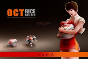 Rice Cooker - Home defense appliance. by Yip-Lee