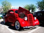 Red Cherry Hot Rod Cruizer by HotCarsLadyARL-Raven