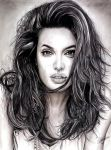 Angelina Jolie by Anthony-Woods