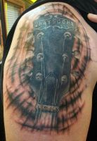 Guitar Finished by Dripe