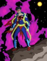 Dark Superboy by markband
