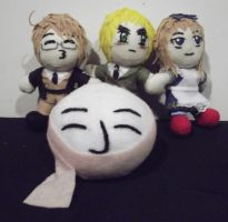 My Newest Plushies by FullmetalApollo