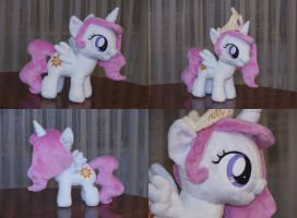 (Filly) Princess Celestia Plushie by navkaze