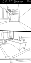 2Fort Story (Uncolored) by Retsy