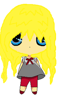Chibi!Maria with long hair. by MotherRussiaWins