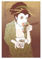 Geisha 1 by BRIANEWING