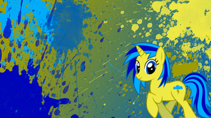 BrightSpark Splatter Wallpaper by brightrai
