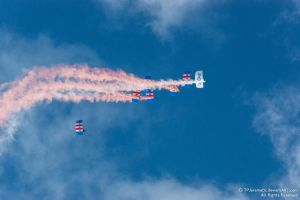 RAF Falcons Parachute Team 4 by TPJerematic