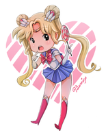 Sailor Moon Lollipop Doodle by BemiTellove