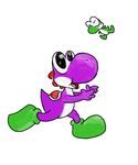 Quick AT: KarinByrne : Playful Yoshis by miju22