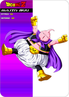 Majin buu card by maffo1989
