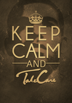 Take Care Typography by TriigzHD