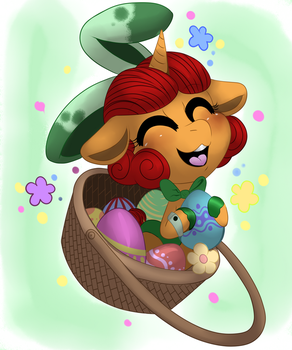 Key in a basket by Mimkage