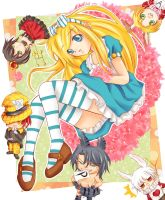 Alice in Wonderland by OroNoDa