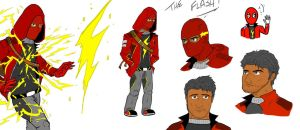 The Flash Redesign - What if I were the Flash? by Razanul