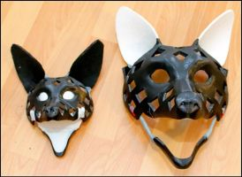 3d-printed Fursuit- And Puppet-Head by Tioh