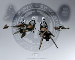74-Z Speeder Bike by 1darthvader