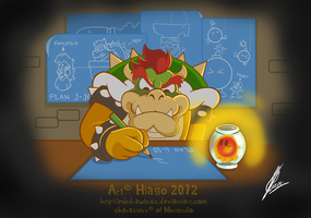 Bowser's Plans by MKDrawings