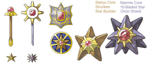 PSC- Staryu and Starmie