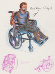 Rough character sketch - Mark Keyes by shadow-inferno