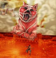 Attack on doge by SunHee2244