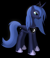 Younger Luna by Ravenshade666