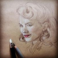 Agent Carter by DafnaWinchester