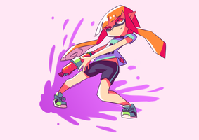 Inkling - Splatoon by Shingo-Hayasa