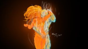 Fire and Ice by ArtBourne
