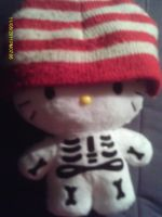 My Hello Kitty with a hat by bubblenubbins