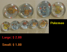 Buy Pokemon Magnets by InsainCat1111