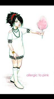 Allergic to Pink by Ahmigad