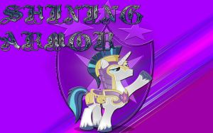 Shining Armor Wallpaper by Macgrubor