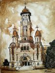 Ploiesti Cathedral Sketch by VladBucur