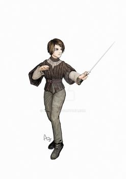Arya Stark by Fandias