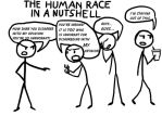 The Human Race in a Nutshell by A-Dawg13