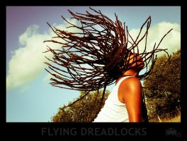 flying dreadlocks by klefer