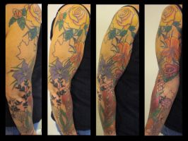 Flower Full Sleeve by Shipht