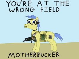 You're at the wrong Airsoft field by Ace156212