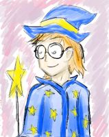 Wizard Kid by doodle-guy7
