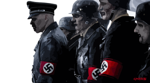 Nazi Zombies - Movie Vector by elclon