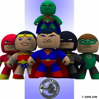 Justice League Toys by JHoagland