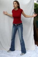 Denim and Red ::Stock 33:: by spiked-stock