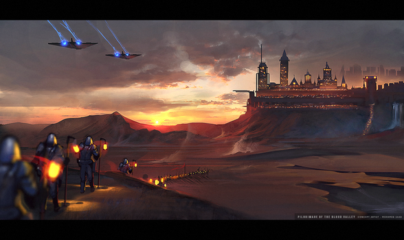 Pilgrimage of the Blood Valley by TheFearMaster