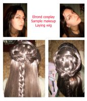 Elrond cosplay. In the process by Mellefuielle